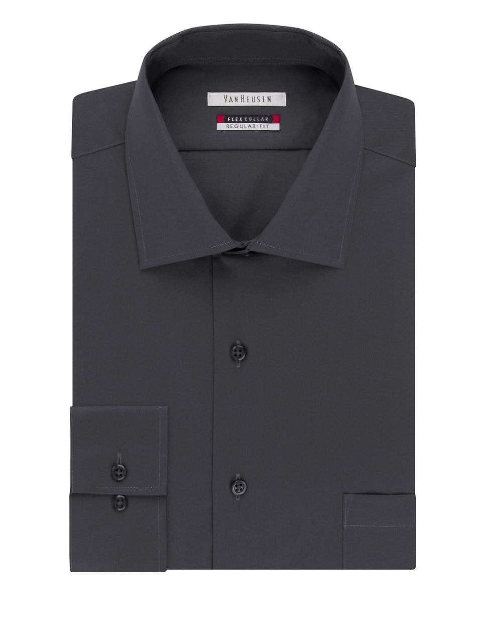 Van heusen flex collar dress shirt for men lyst for Van heusen shirts flex collar