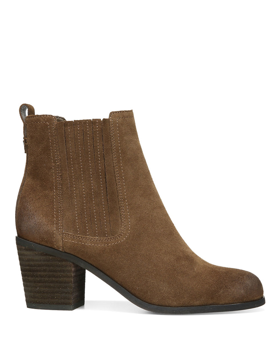 Sam Edelman Lance Suede Ankle Boots In Brown Lyst