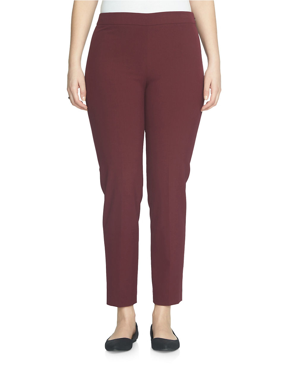 Gorgeous soft trousers with high waist and side zip fastening. Size 16 long leg with a rib sewn all down the trouser front to keep the creases in and flared bottoms like palazzo/ bootcut.