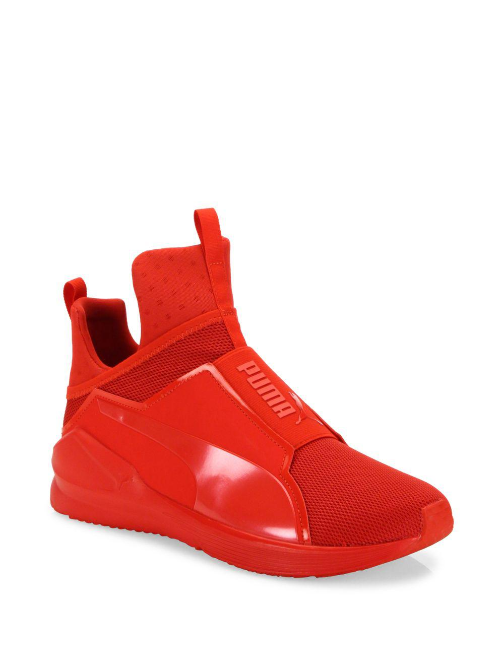 ea9fa4136920 ... authentic lyst puma fierce core ariaprene high top sneakers in red for  men 55216 3f5cf