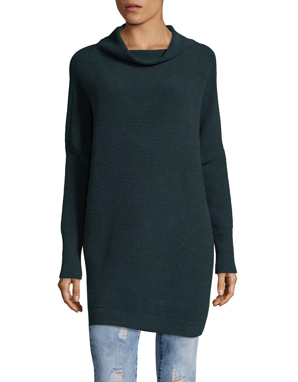 Free people Ottoman Slouchy Tunic Sweater in Blue | Lyst