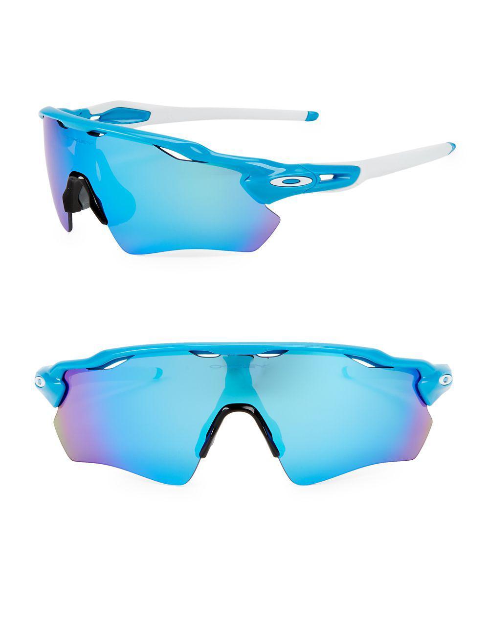 5c459a59b5 Lyst - Oakley 38mm Foldable Sunglasses in Blue for Men