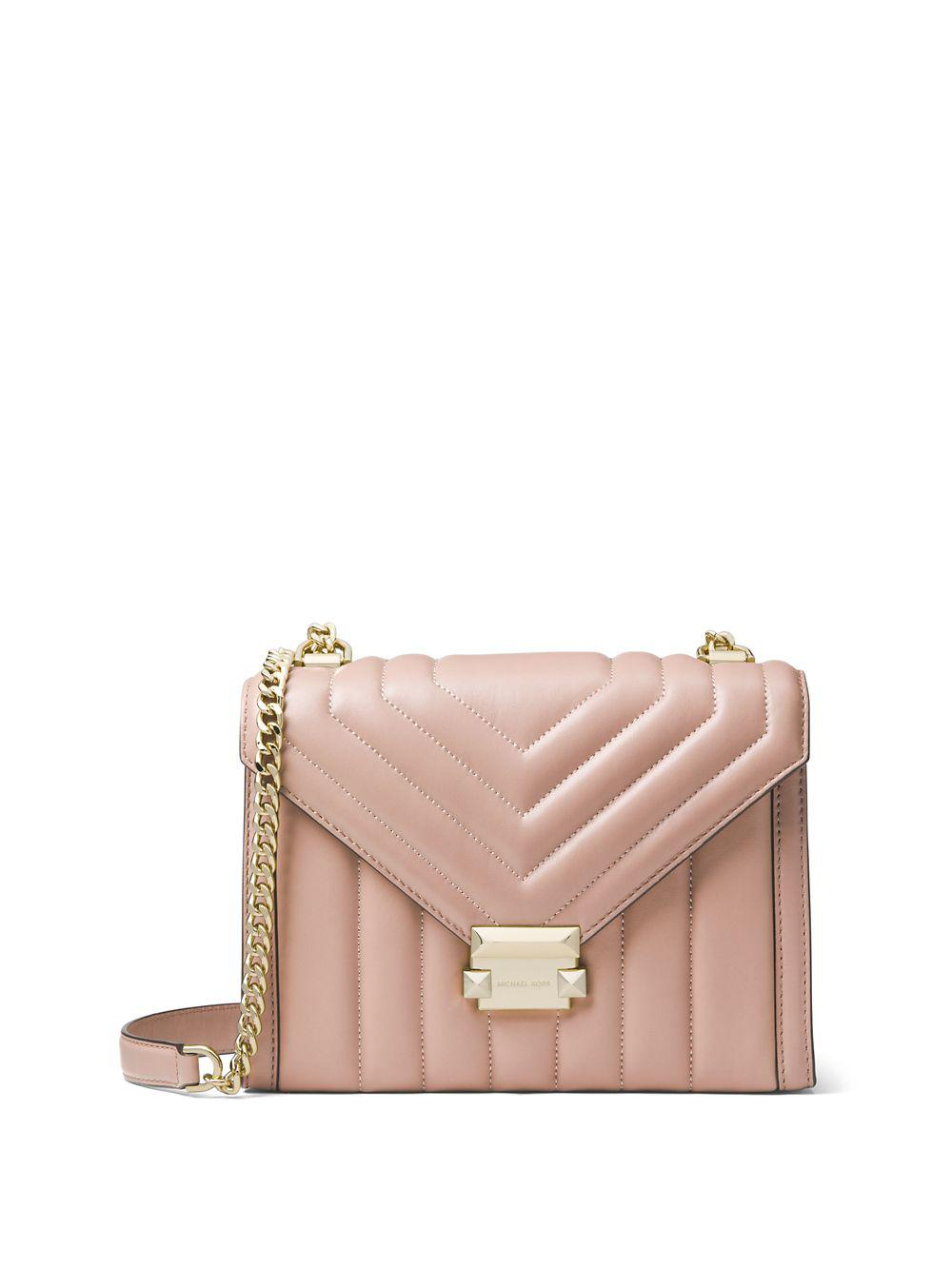 f4a105f487a9 MICHAEL Michael Kors. Women s Whitney Large Quilted Leather Shoulder Bag
