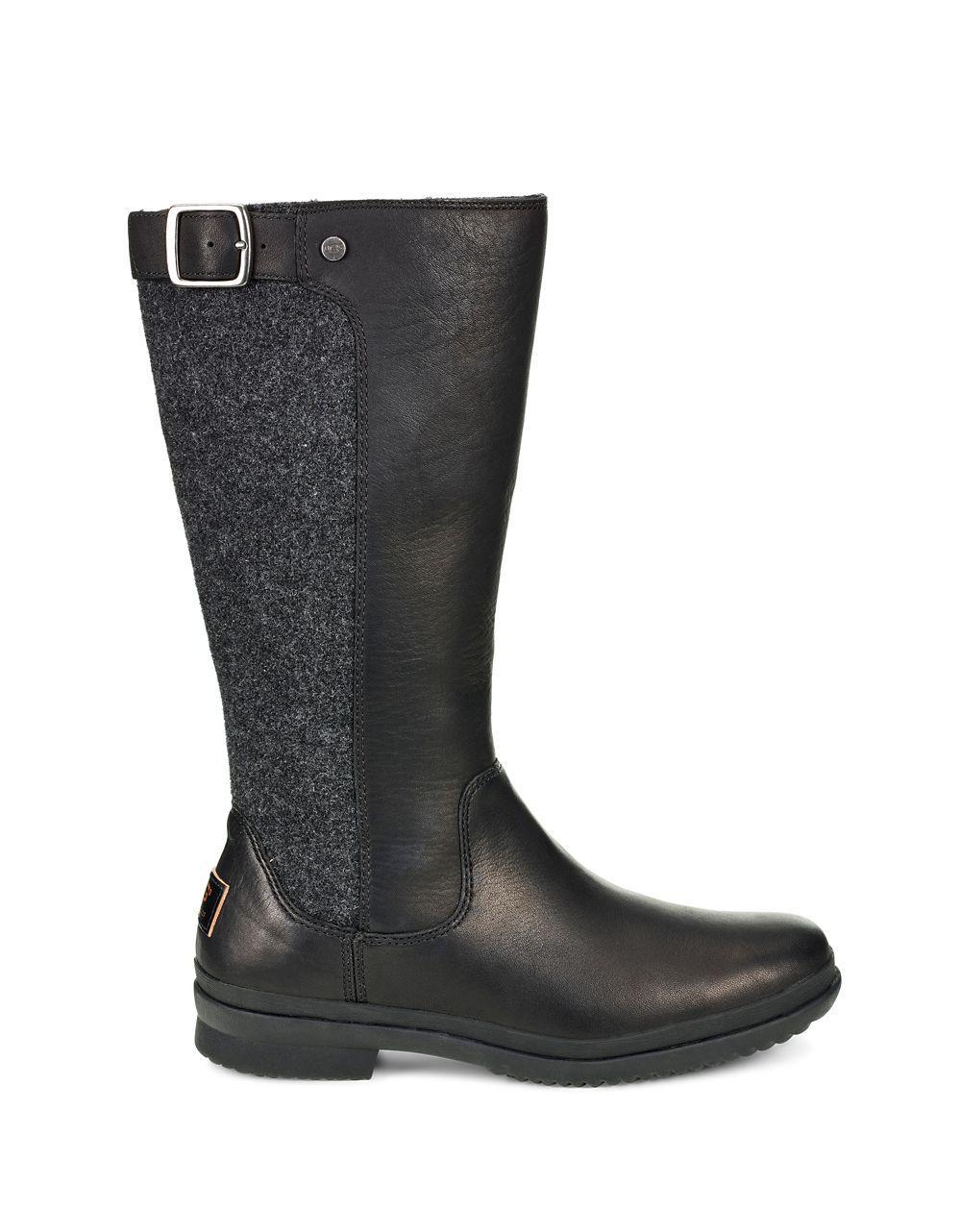 a3ed754cbbd Black Women's Janina Mid-calf Dyed Fur Boots