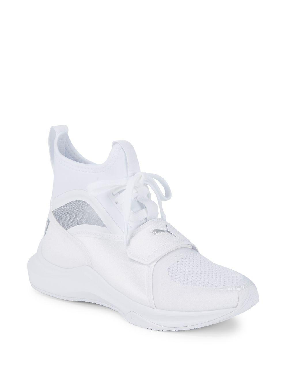 06a77a0c2ec4d0 Lyst - Puma Phenom Training Sneakers in White