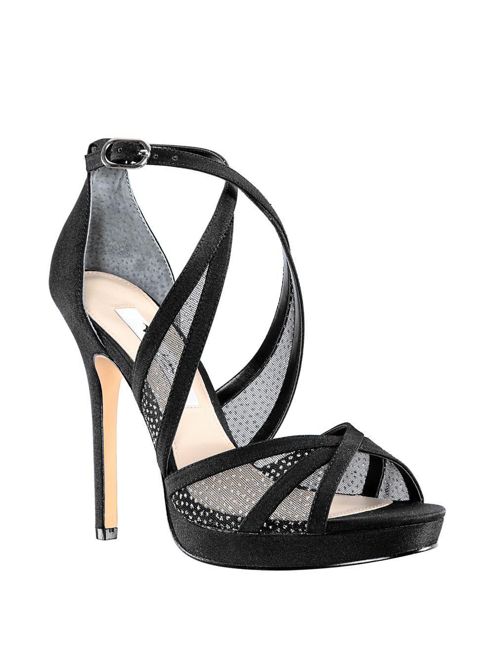 4488b469d26 Nina Fenna Platform Sandals in Black - Lyst