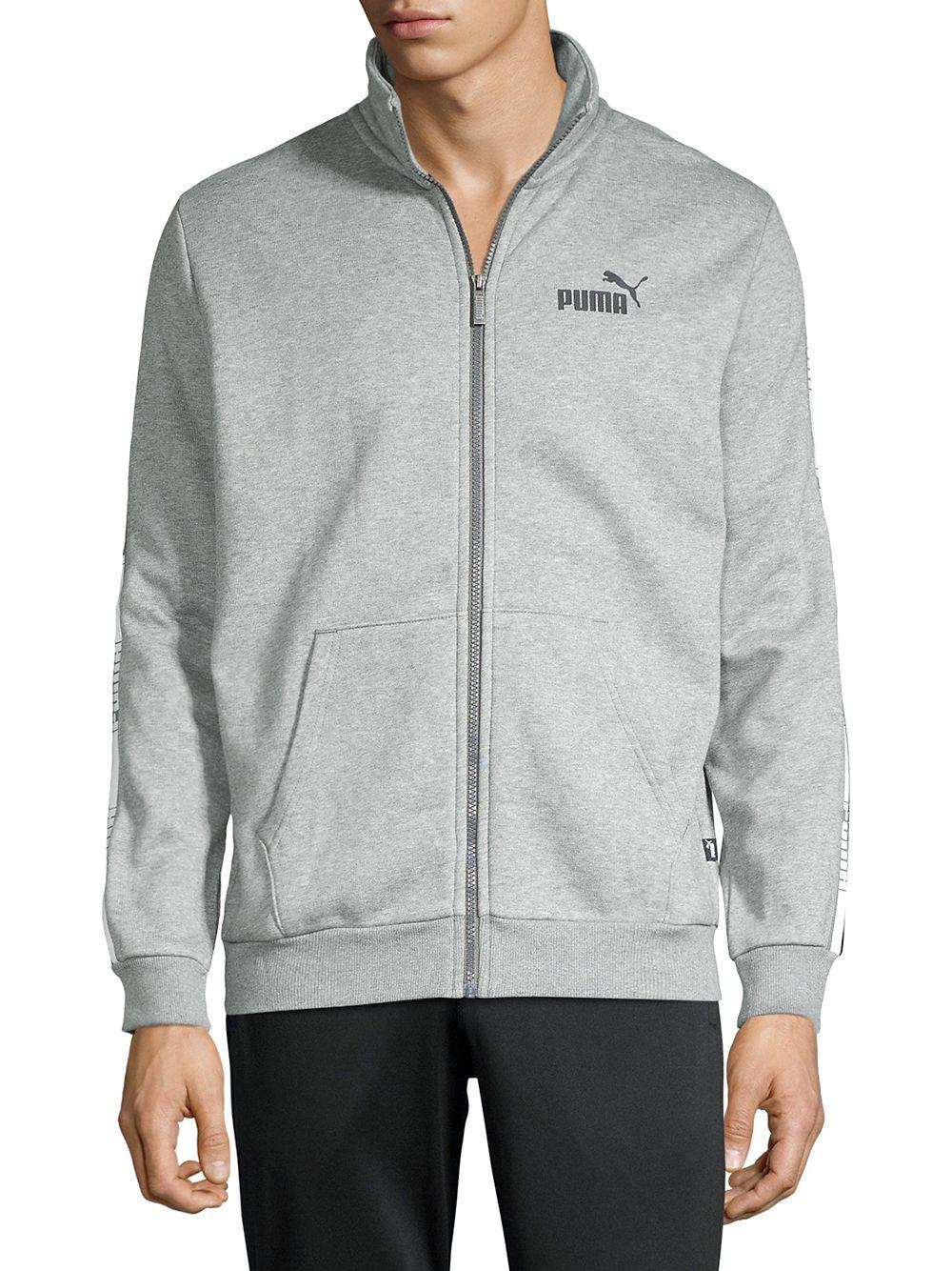 c1c5613f1bd3 Lyst - Puma Side-tape Track Jacket in Gray for Men