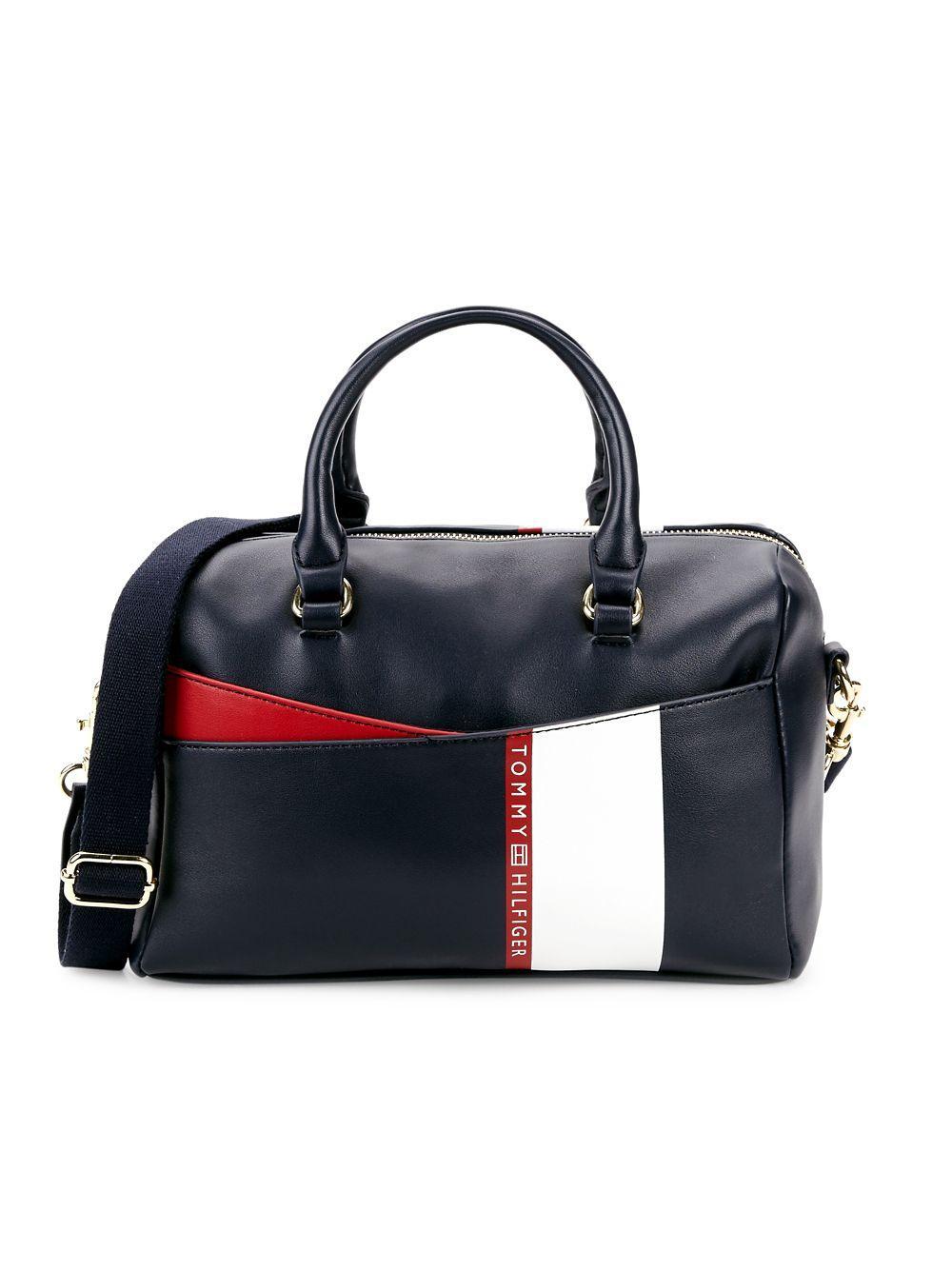 d5096477ab1 Tommy Hilfiger Ruby Mini Satchel Bag in Blue - Lyst