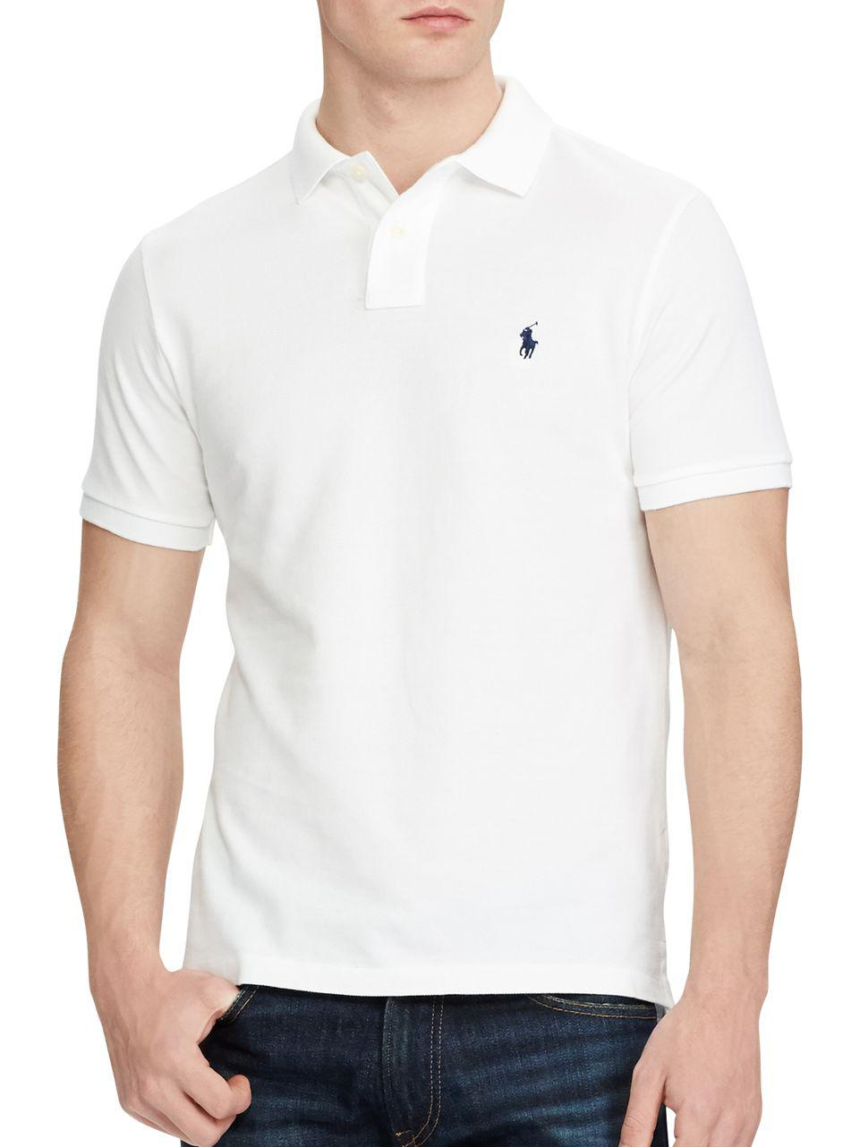 215623ab Ralph Lauren Custom Slim Fit Mesh Polo | RLDM