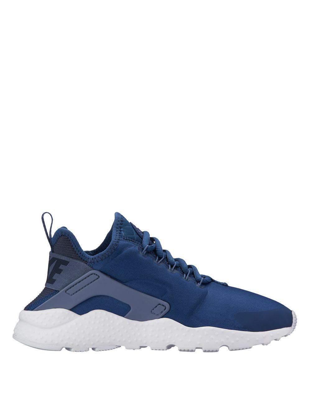 b92214bed6da Lyst - Nike Air Huarache Run Ultra Low Top Sneakers in Blue for Men
