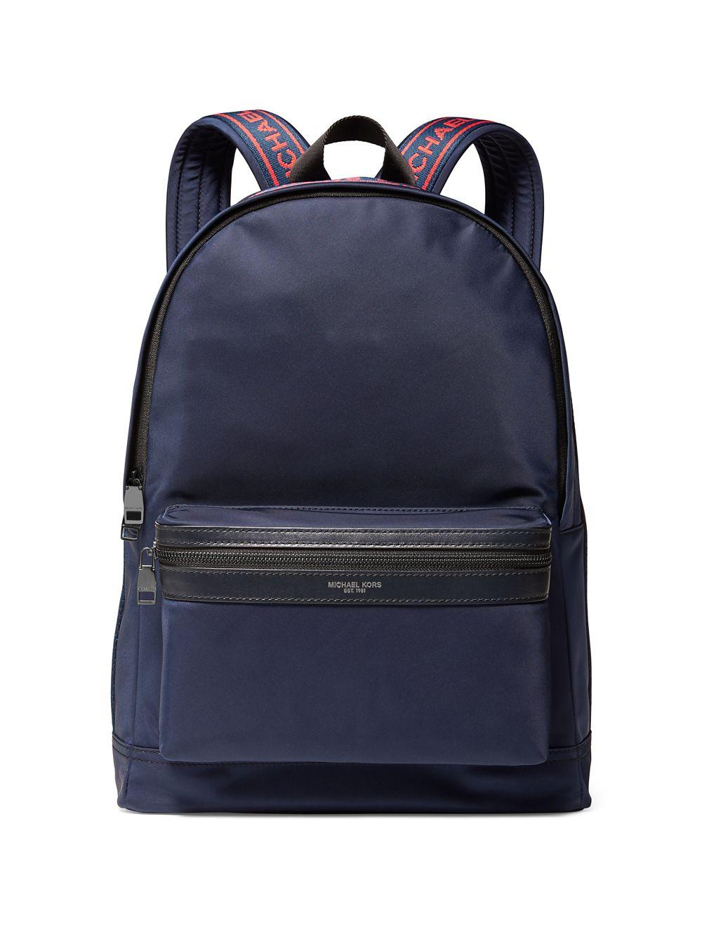 541cc75af477 Michael Kors - Blue Kent Logo Backpack for Men - Lyst. View fullscreen