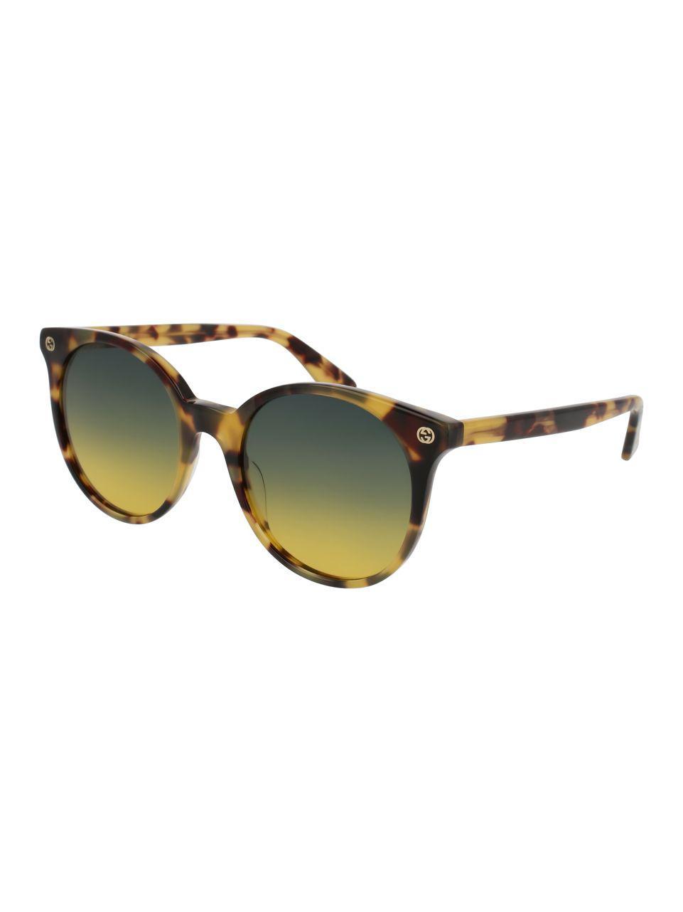 0c6d3a28537 Lyst - Gucci 50mm Gg0091s Round Sunglasses