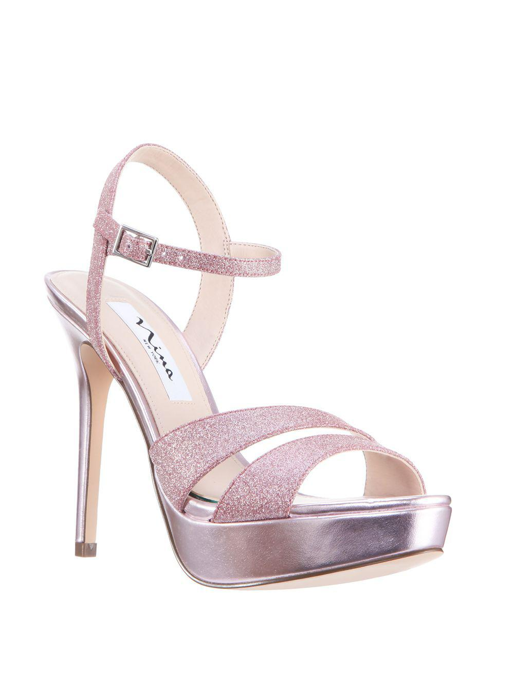 NINA Silana Platform Sandals From China Online Ebay Sale Online XoFd7bqfZC
