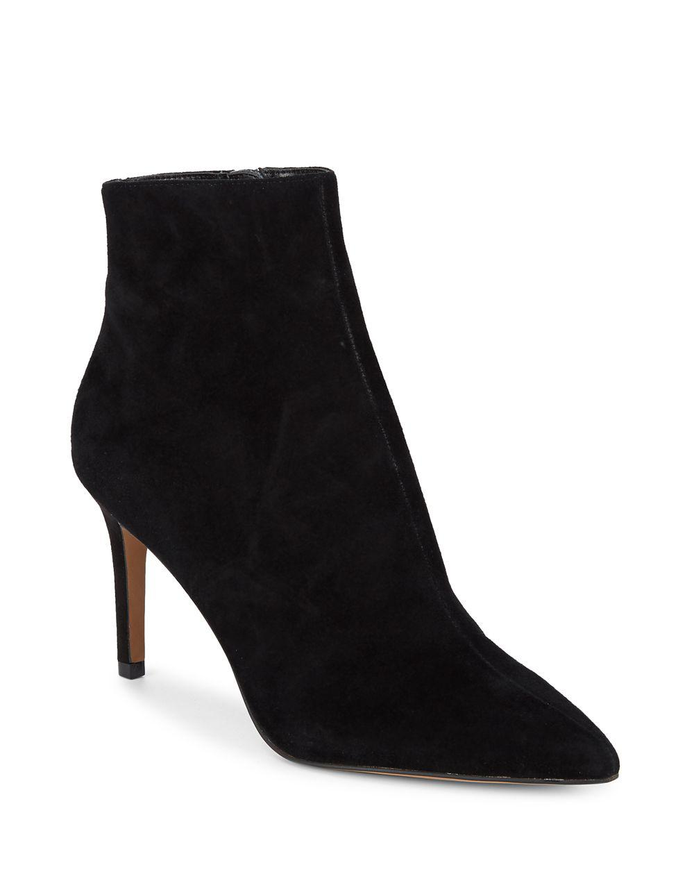 007981bc7 Steven by Steve Madden Logic Suede Booties in Black - Lyst
