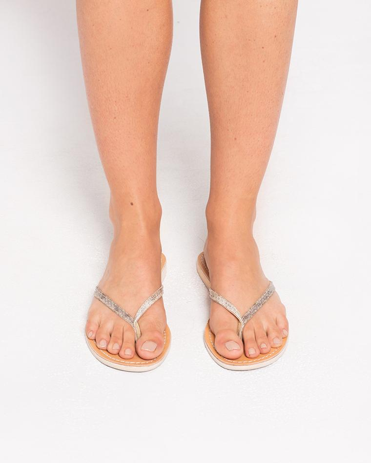 ba04fe94f2d9f ... Natural L  By Cocobelle Sunset Thong Sandal - Lyst. View fullscreen
