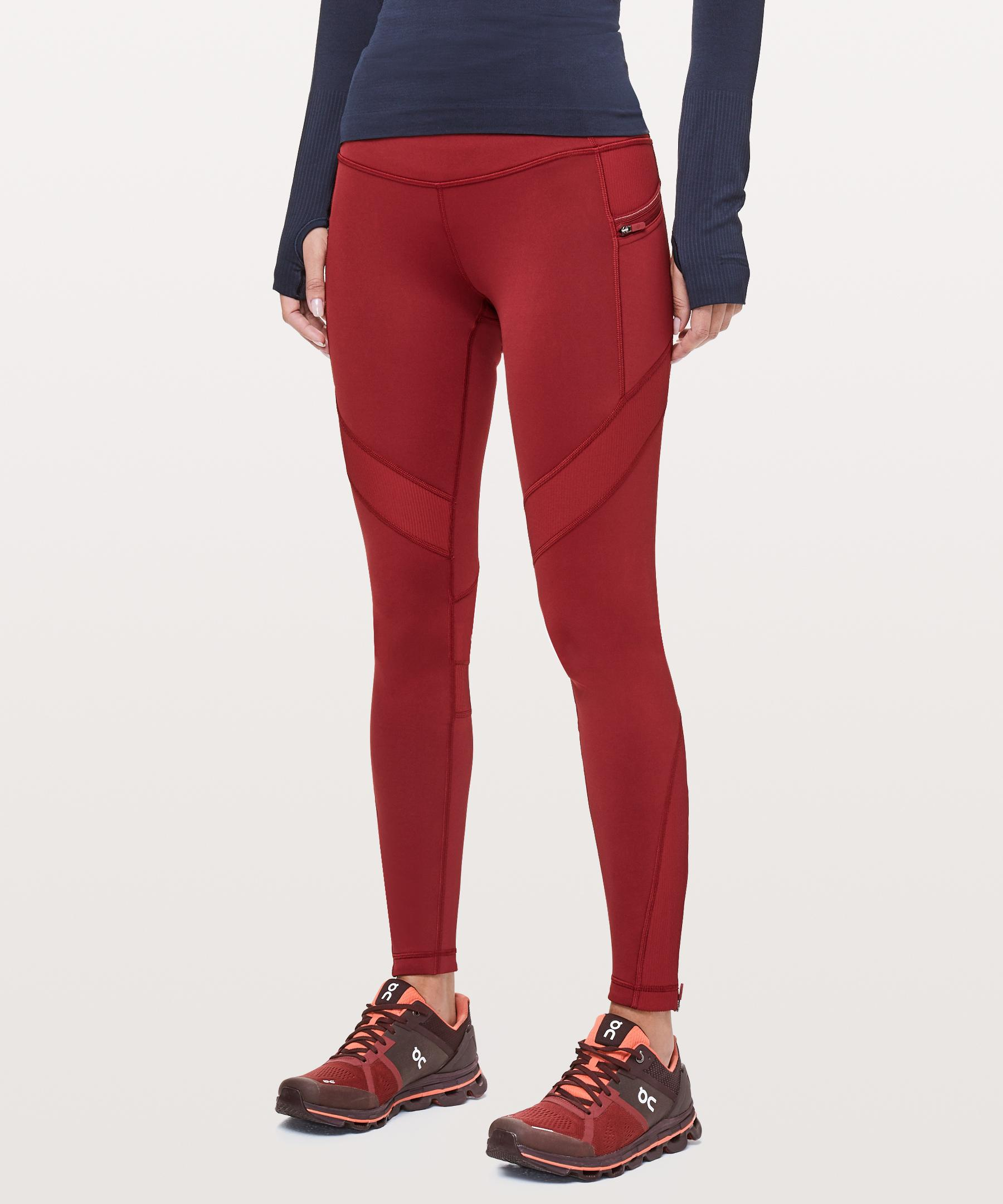 df5232022dc591 lululemon athletica Keep The Fleece Tight in Red - Lyst