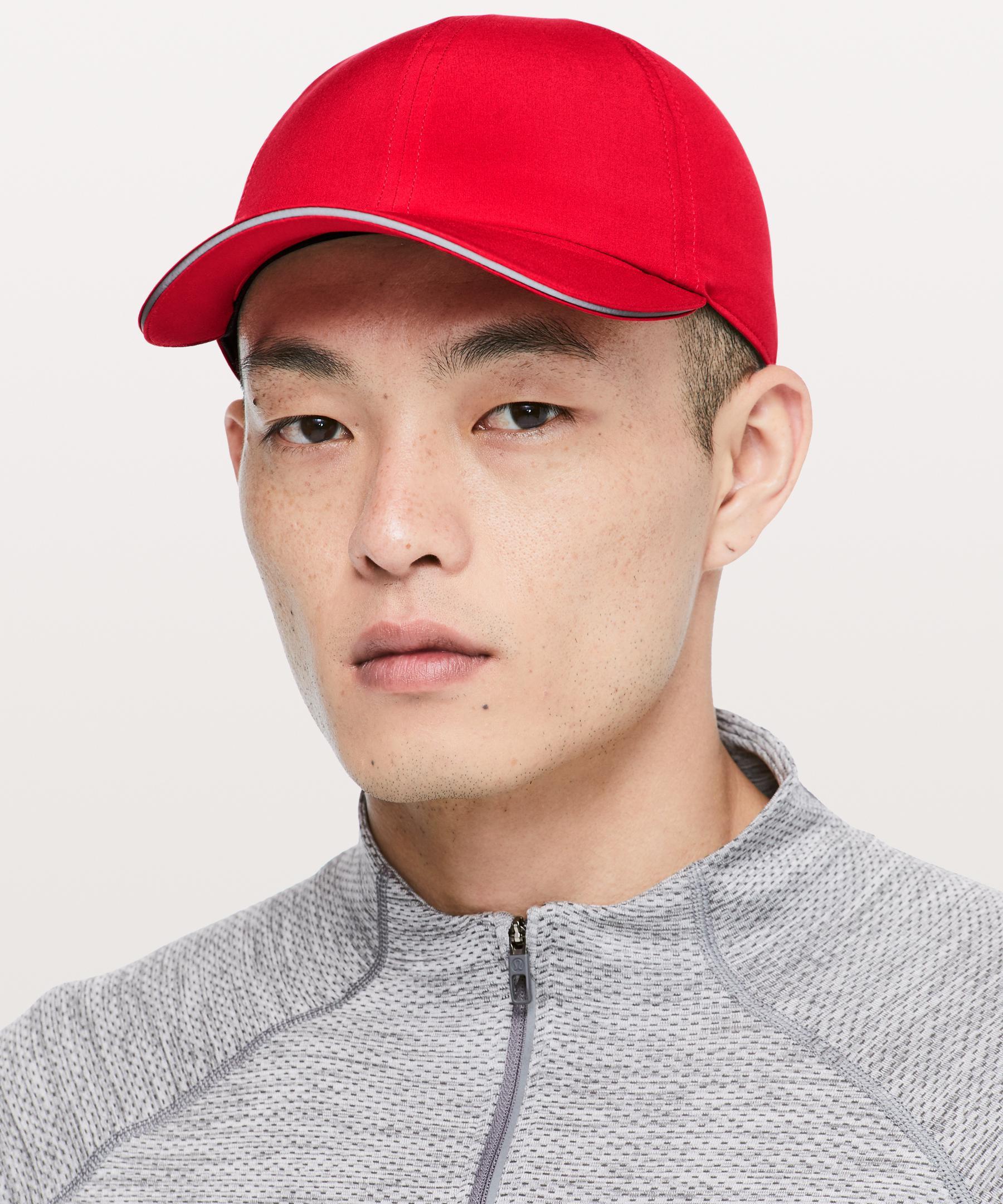 c4a9f3fd1413b lululemon athletica Lightspeed Run Hat in Red for Men - Lyst