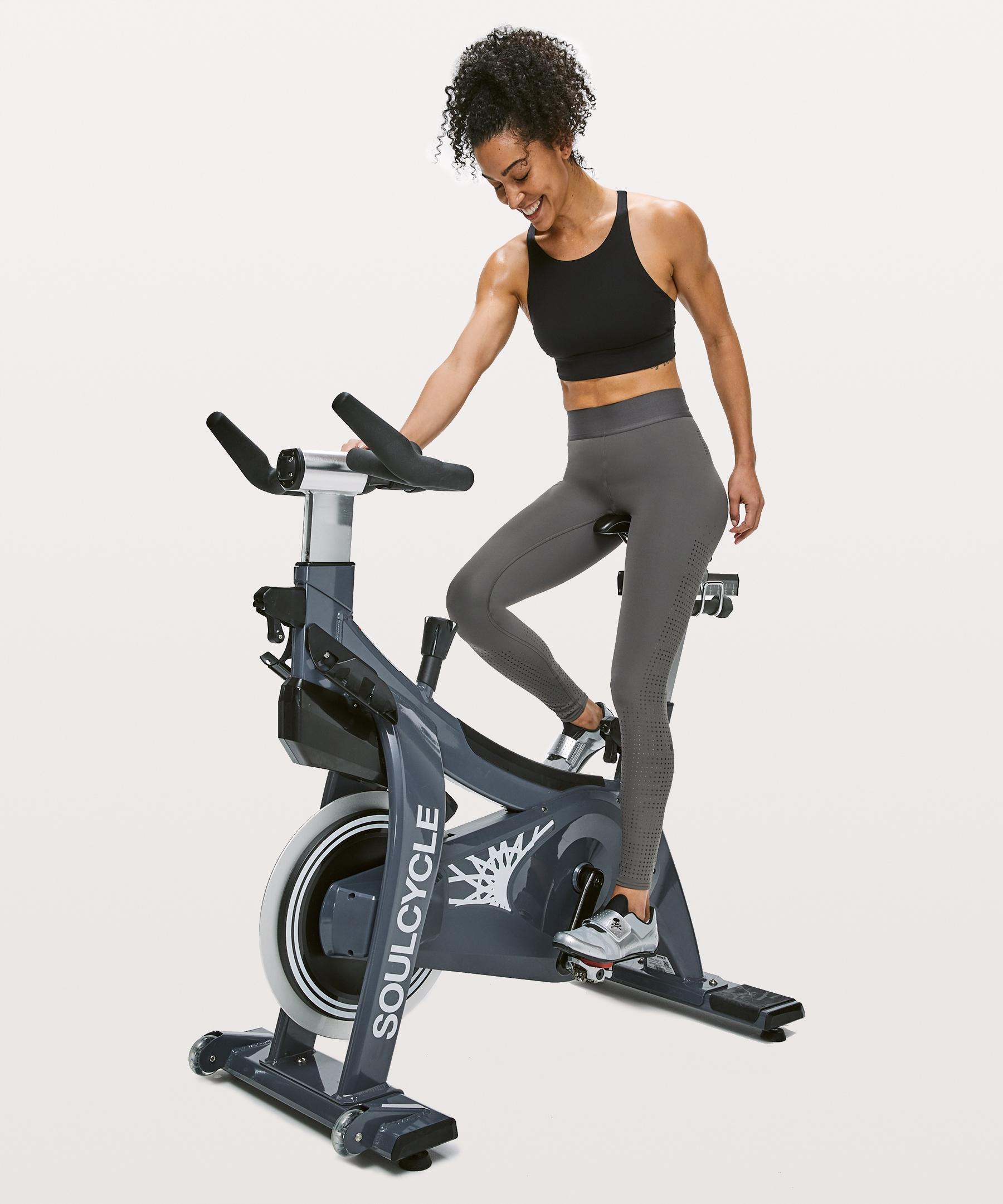 6f4ff6c0e81c4 Lyst - Lululemon Athletica Ride   Reflect Bra   X Soulcycle in Black