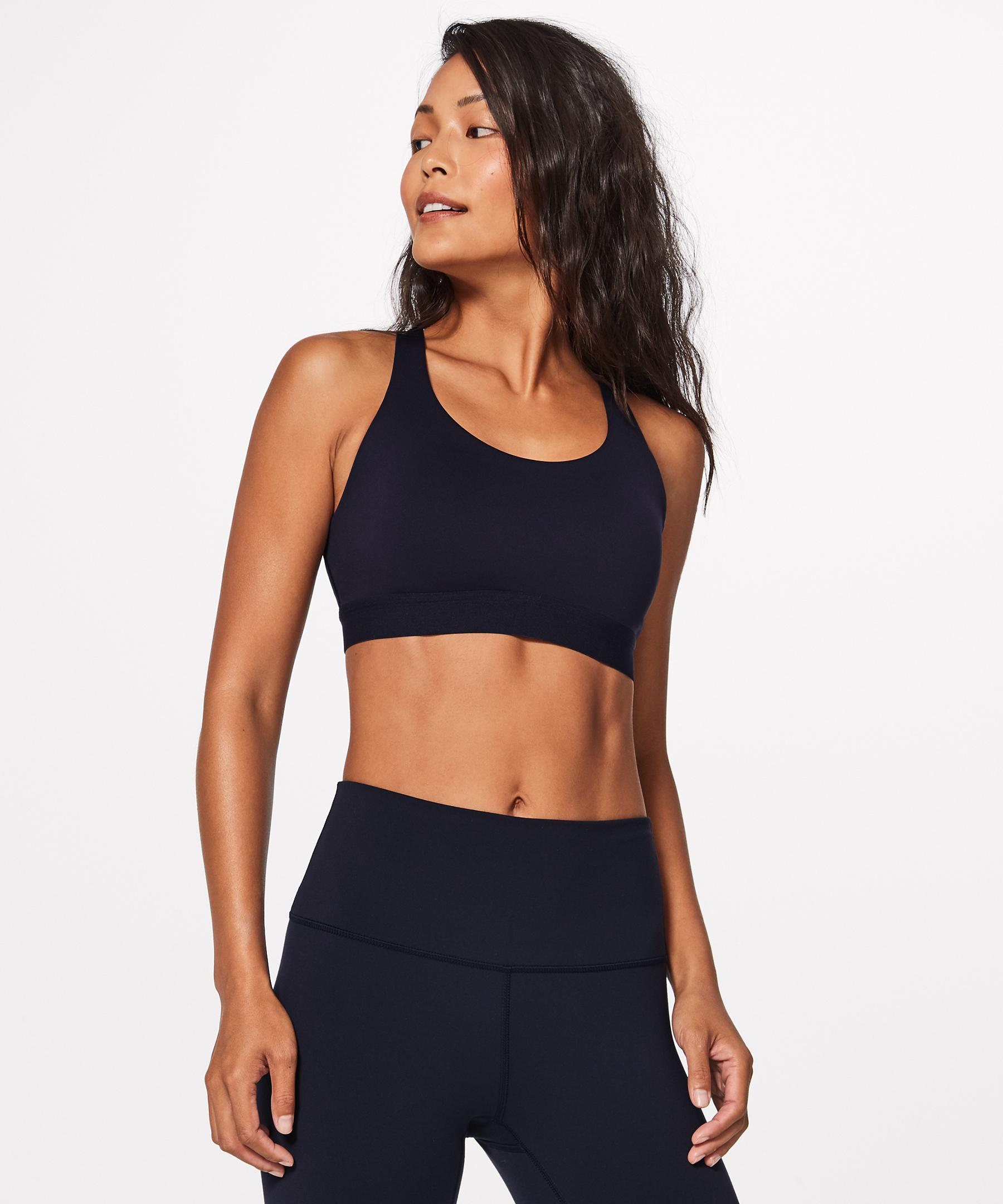 02635cb018 lululemon athletica Fresh In Mesh Bra in Blue - Lyst