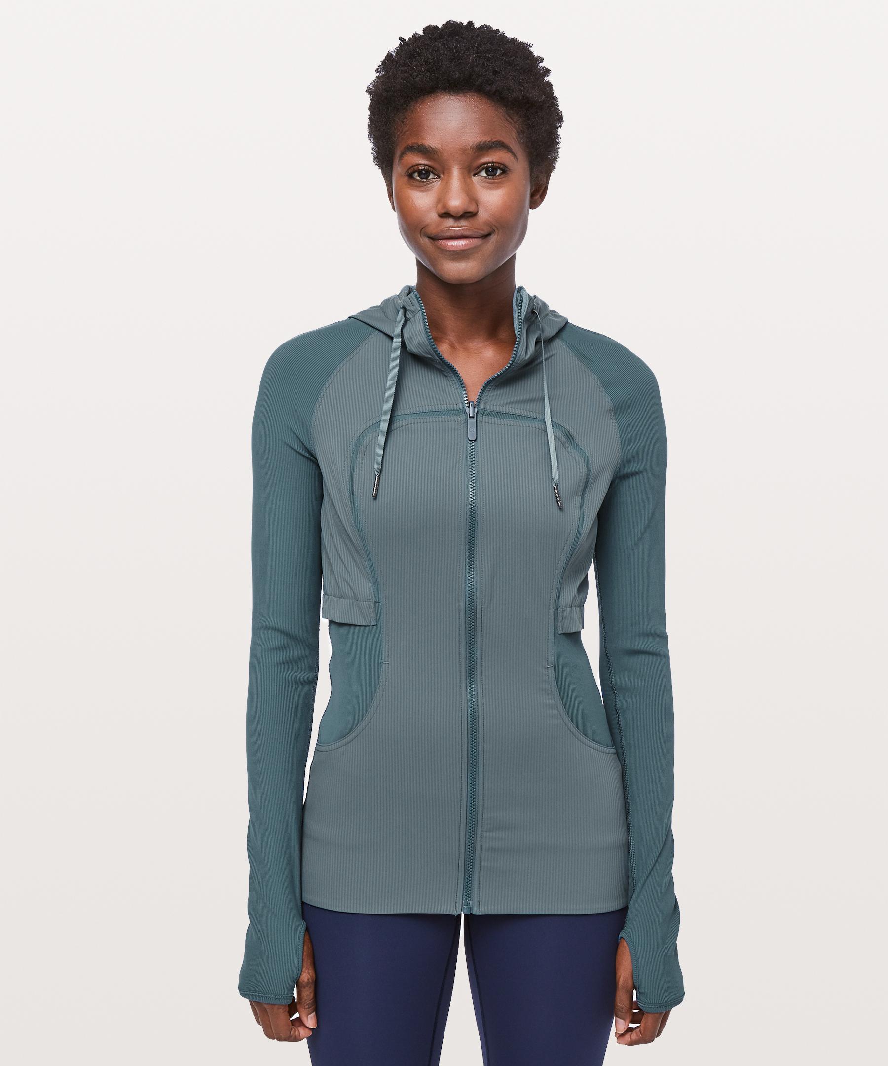 f686573f7 lululemon athletica Blue Dance Studio Jacket Rib Sleeve