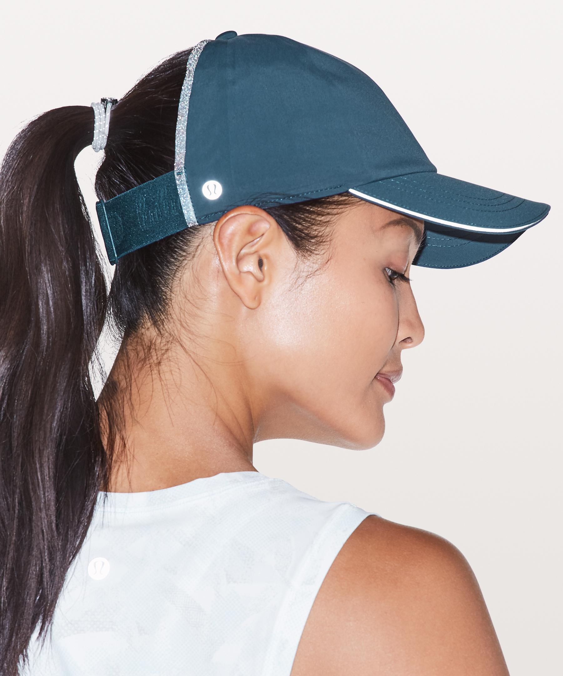 31c9bc2c lululemon athletica Baller Hat Run *ponytail in Blue - Lyst