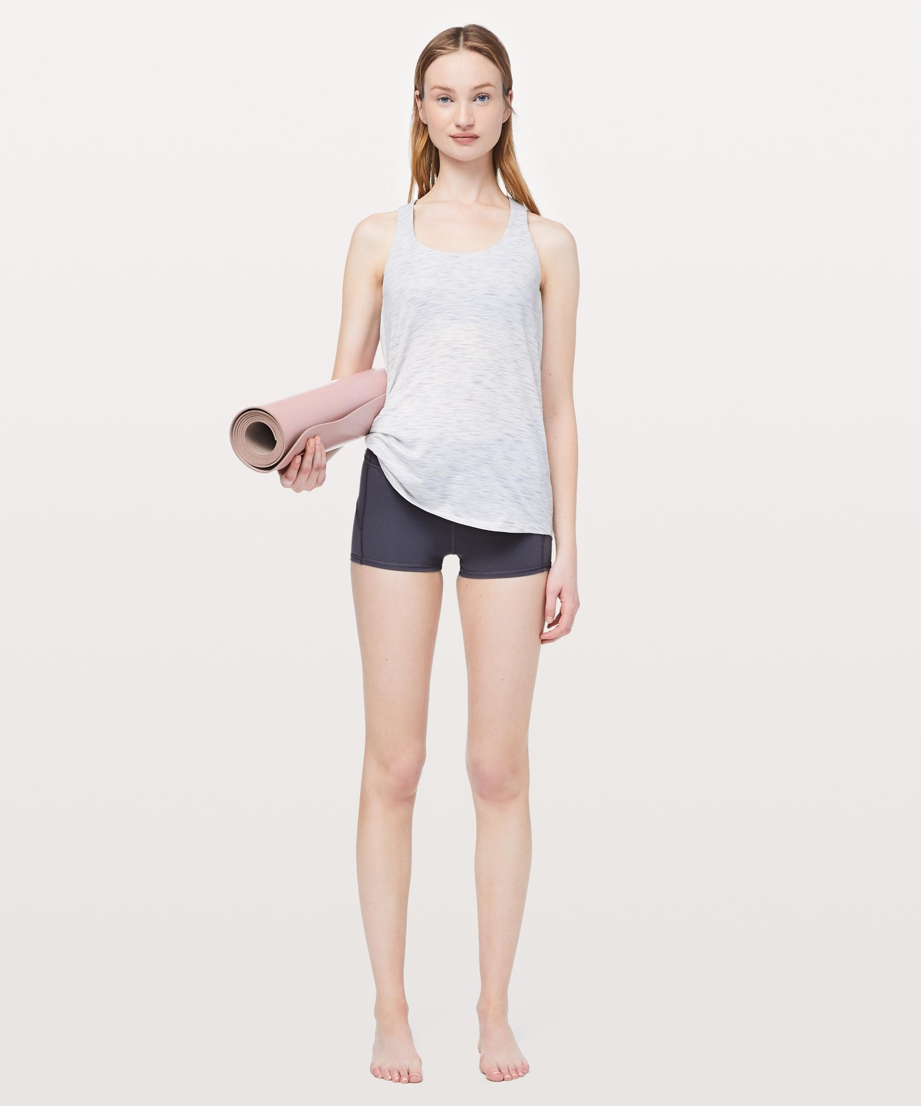 74c9dc23d44 lululemon athletica Slay The Studio 2-in-1 Tank  medium Support B c Cup in  White - Save 43% - Lyst