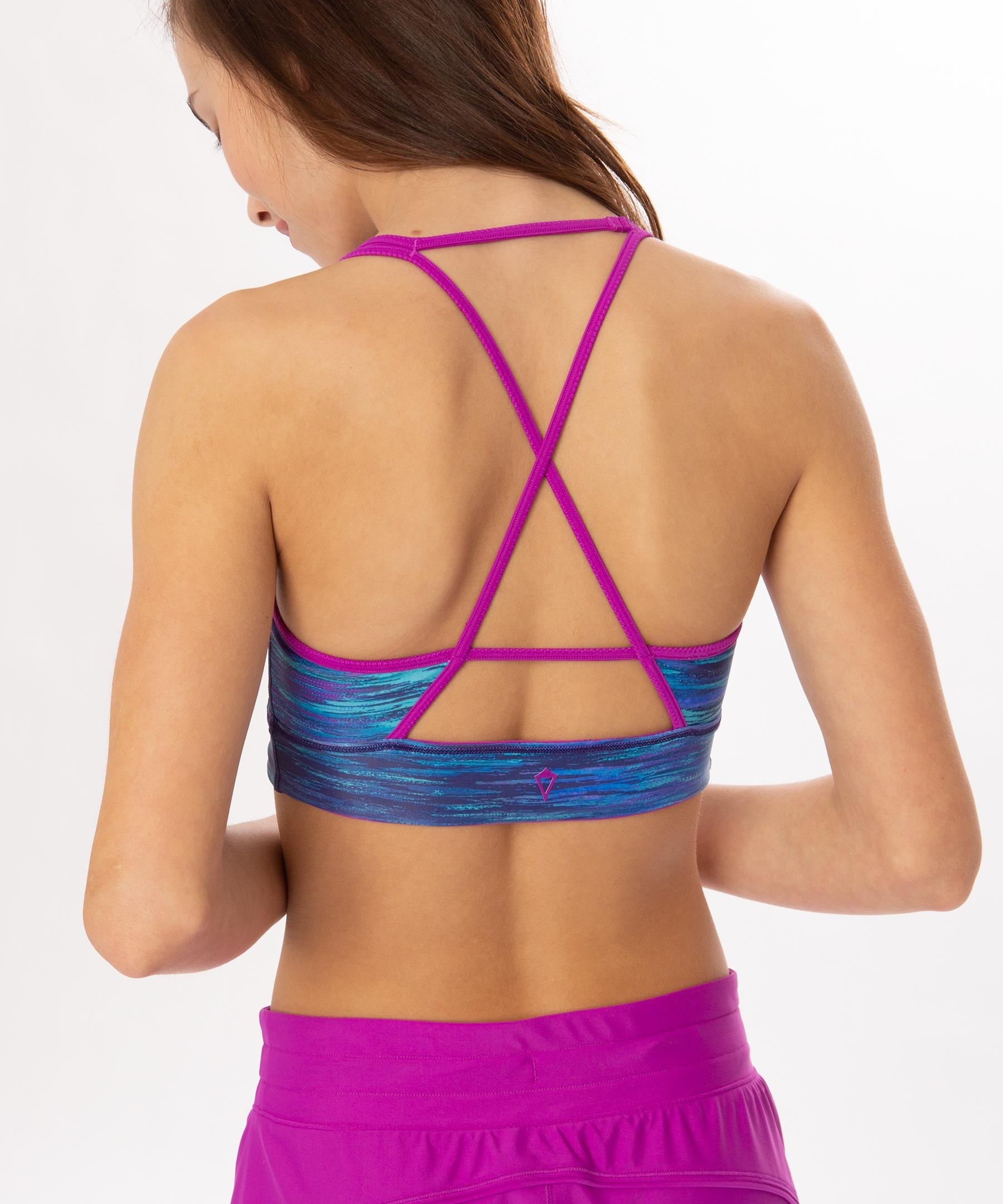 53b795cf58 Lyst - lululemon athletica Water You Up To Crop Top  reversible - Girls
