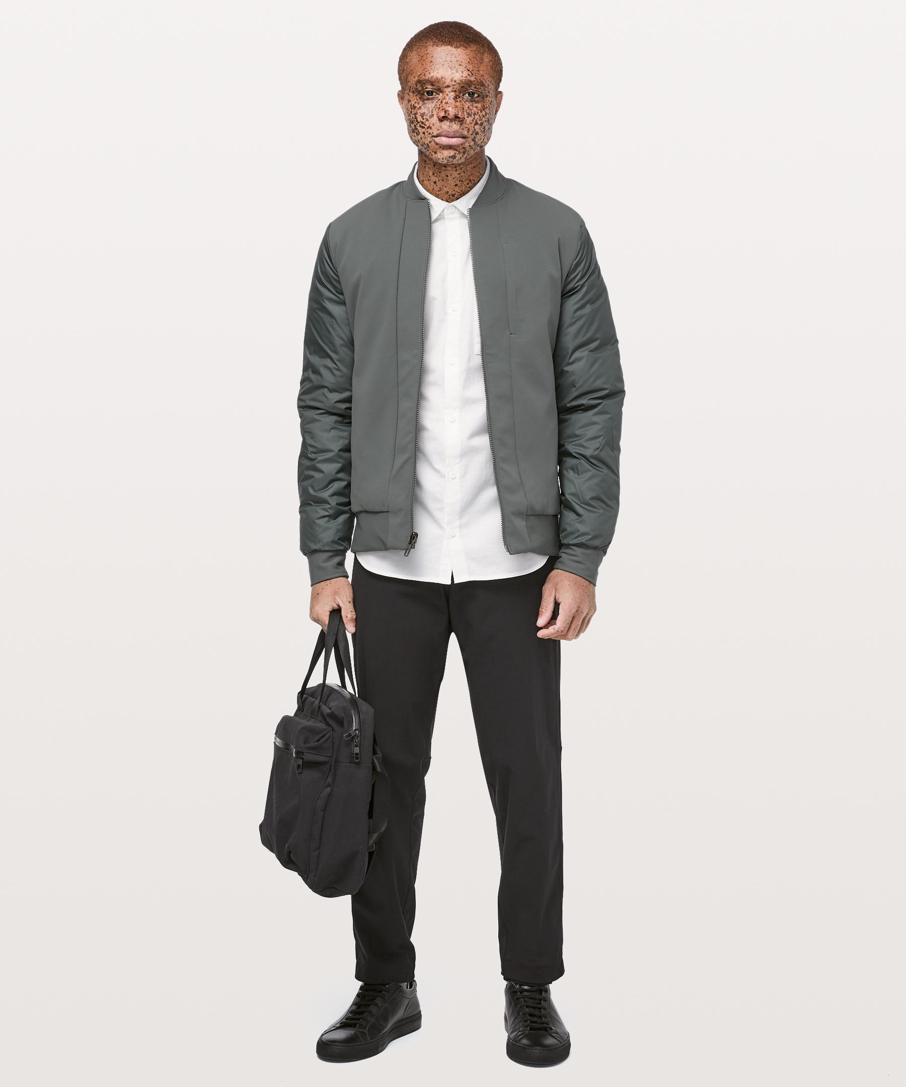 f64cd27bd lululemon athletica Goose About Face Bomber in Gray for Men - Lyst