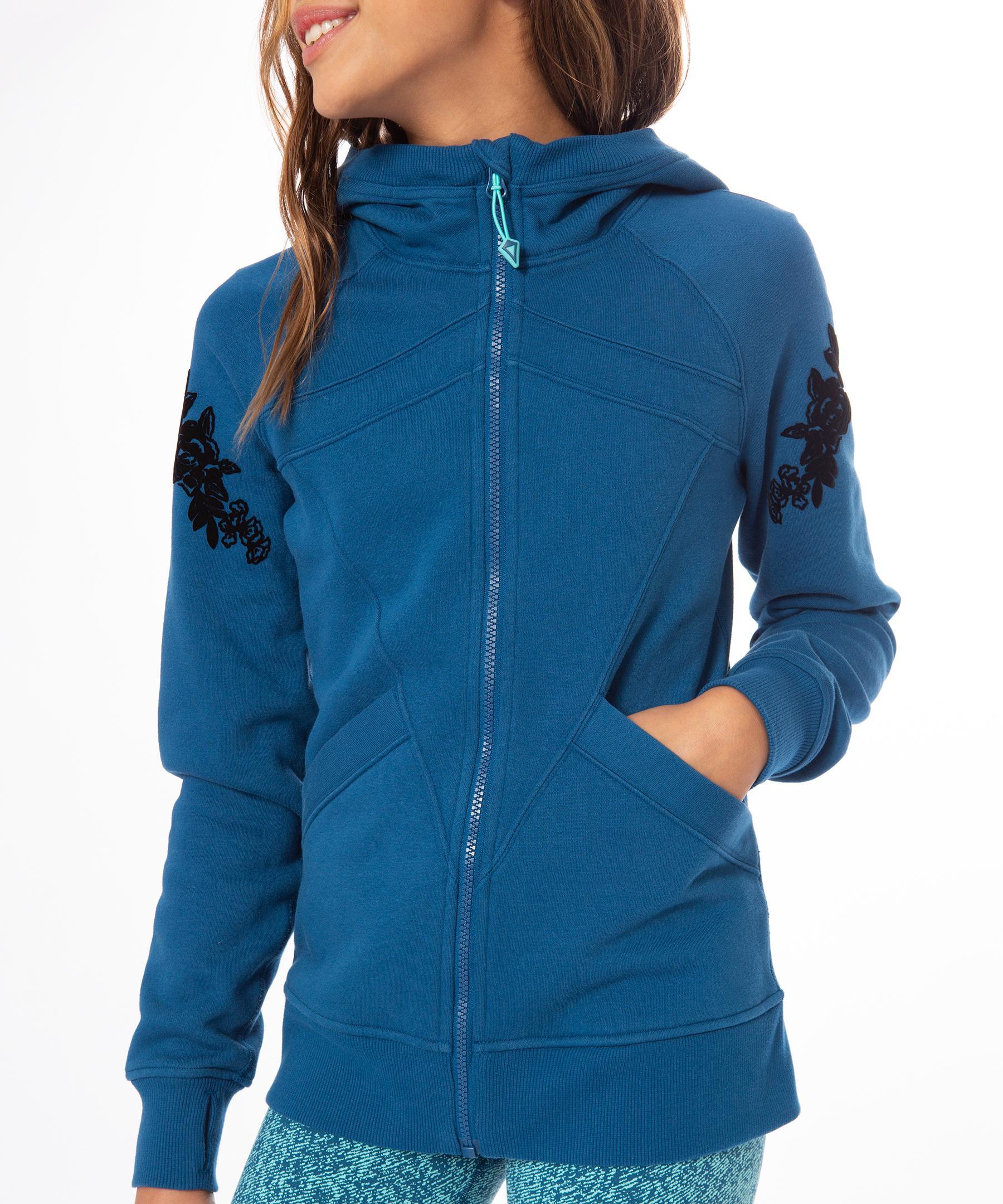 880b5c84268505 Lyst - lululemon athletica The Ivivva Hoodie - Girls in Blue - Save 46%