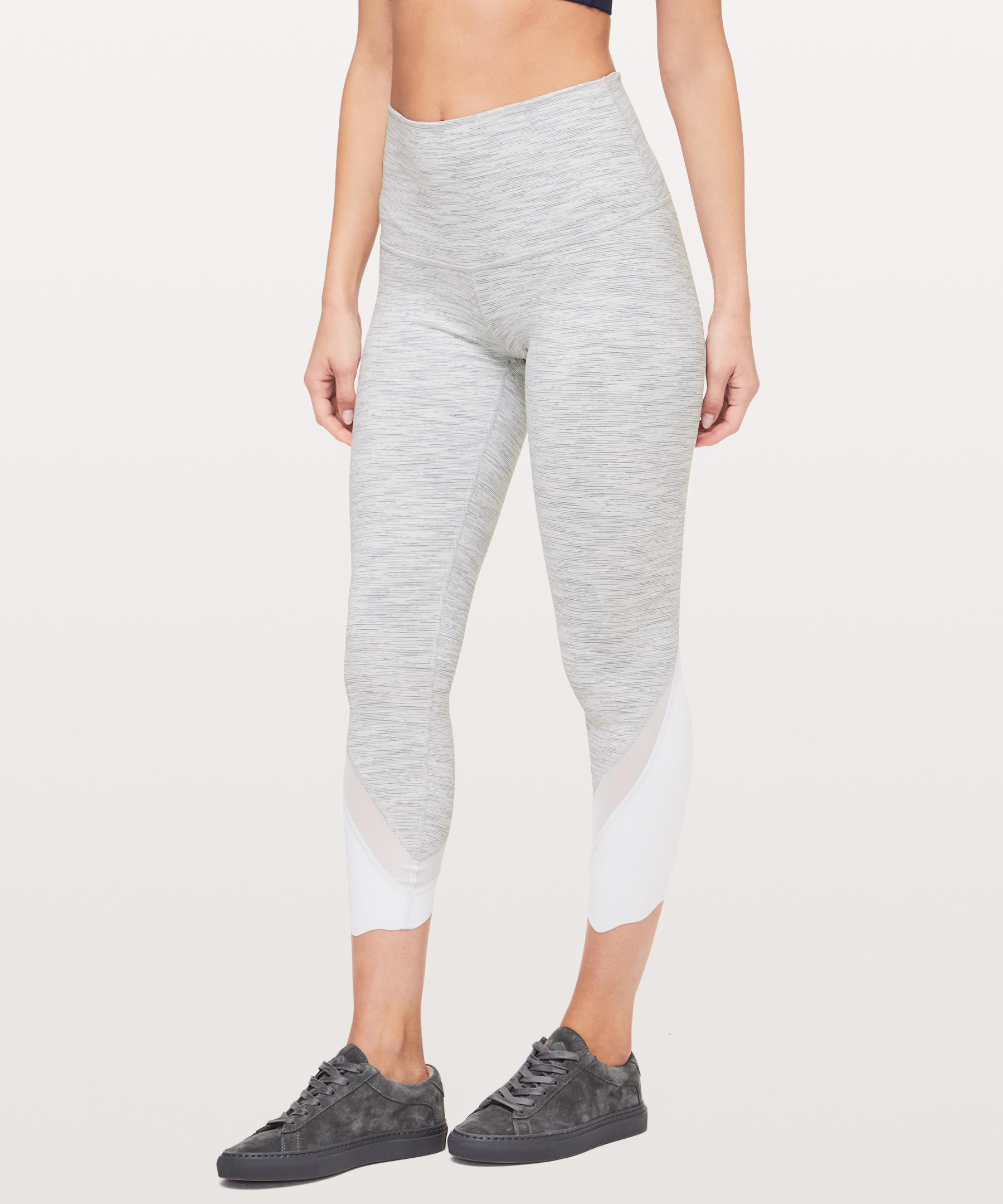 0430580d0 lululemon athletica - Gray Wunder Under Crop Ii (special Edition)  luon  Scallop 24. View fullscreen
