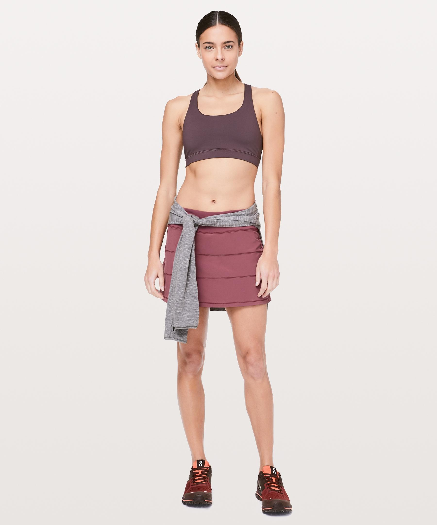 96facc1ea4 Lyst - lululemon athletica Pace Rival Skirt (tall)  4-way Stretch 15