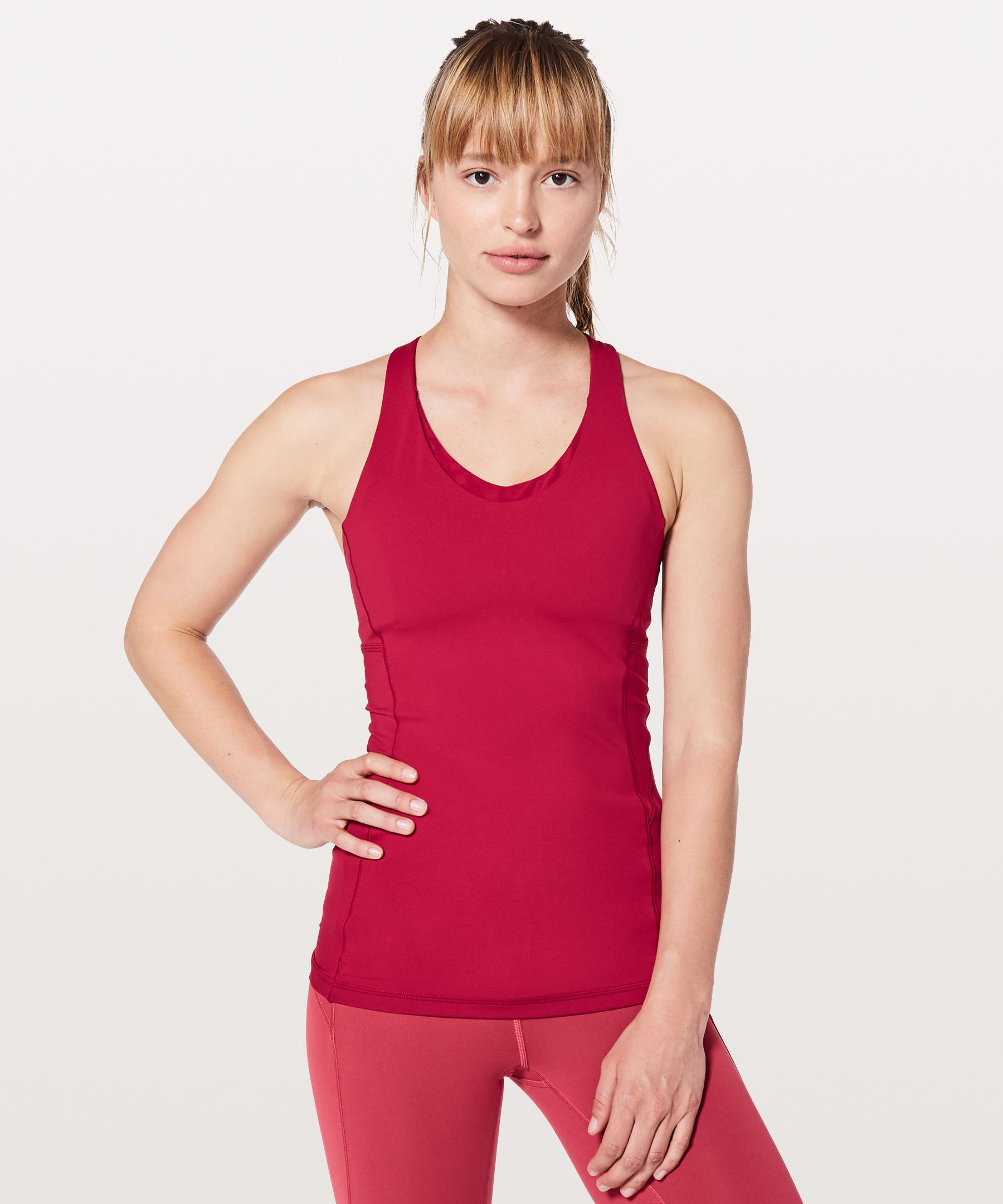 7885f46a95 Lyst - Lululemon Athletica Stash N  Run Tank  medium Support For B c ...