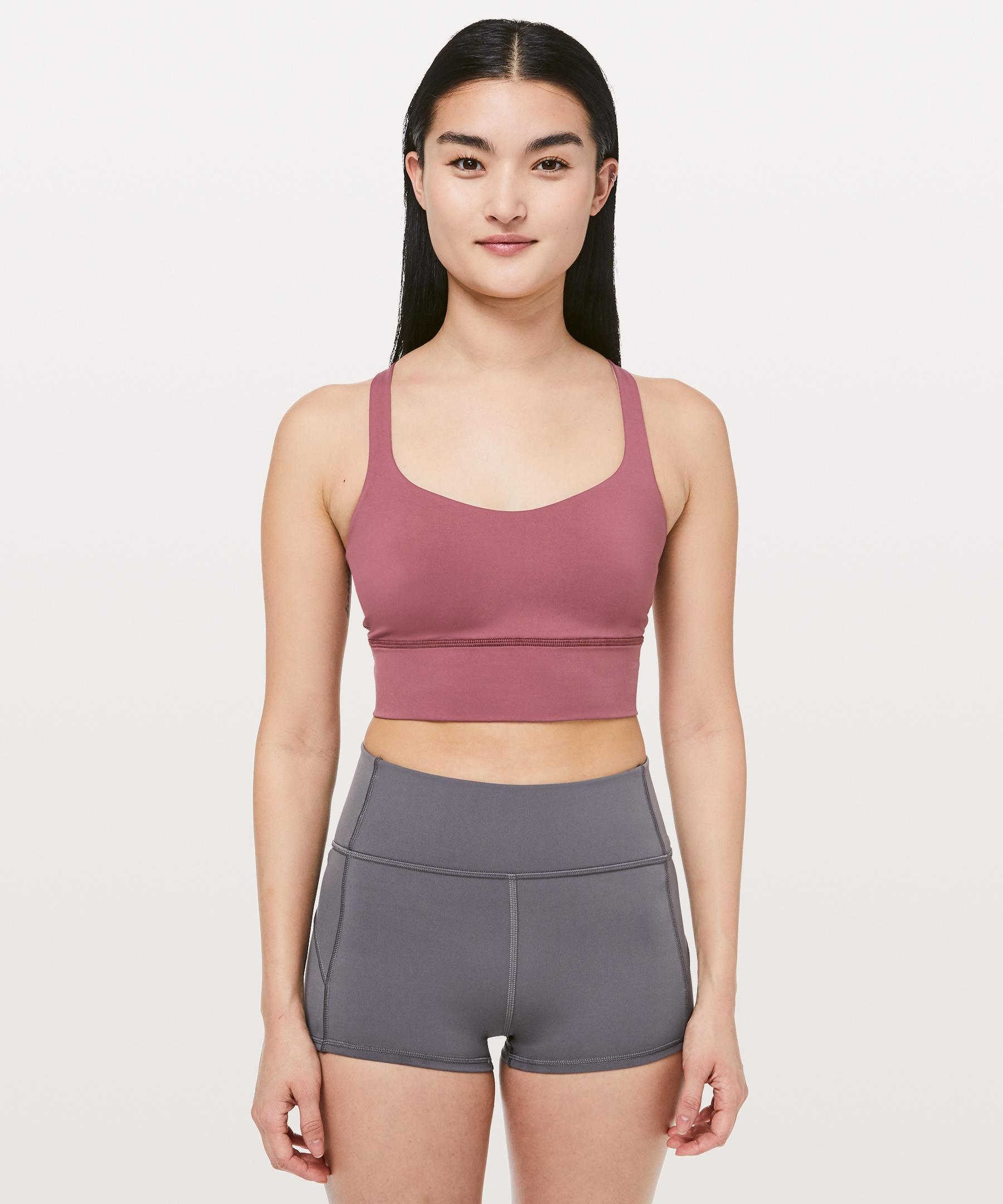05e0b8091a557 Lyst - lululemon athletica Free To Be Bra  long Line Online Only