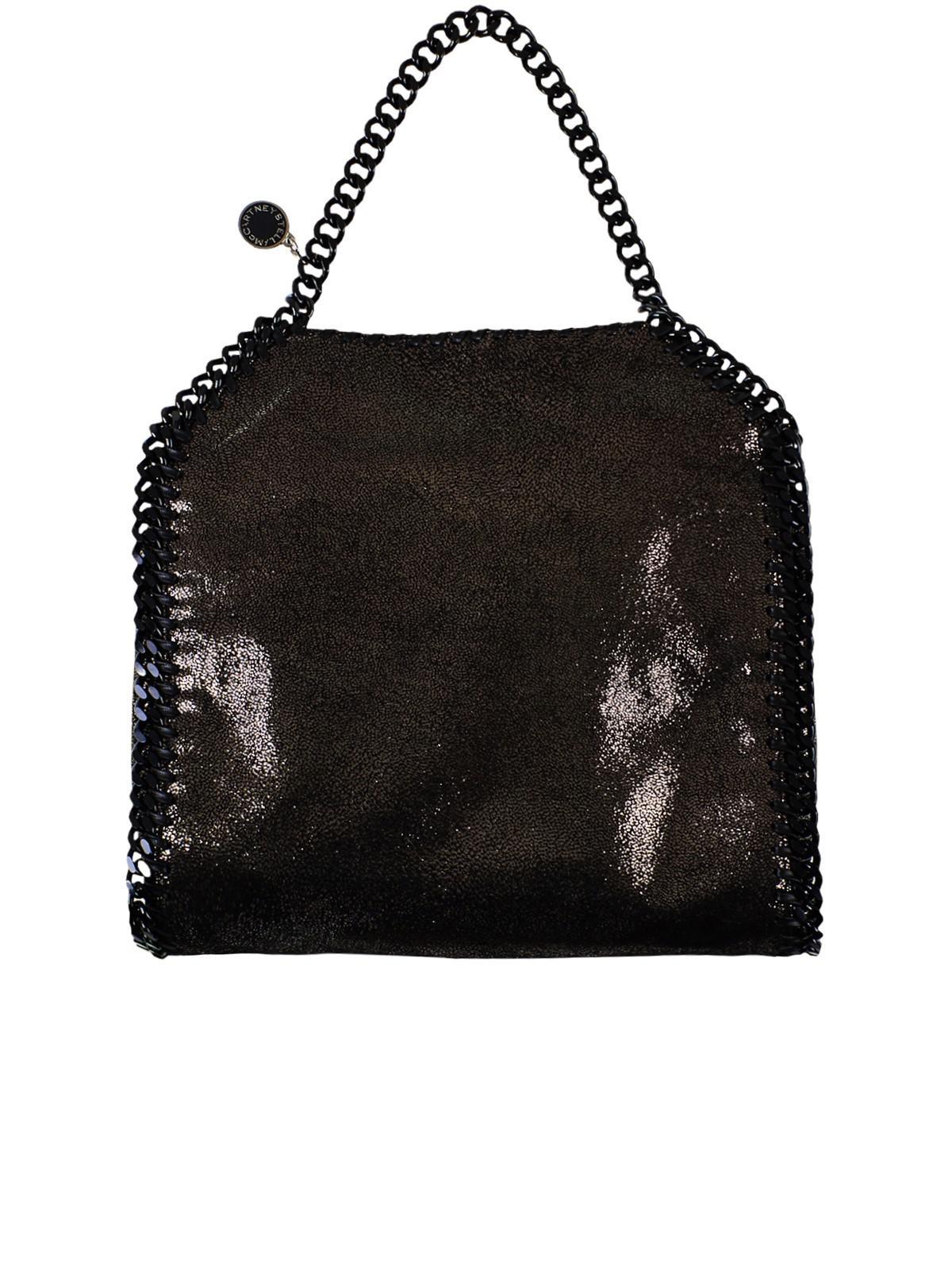 Lyst - Stella Mccartney Black Small Tote Falabella Crossbody Bag in ... 69b155fde63cc