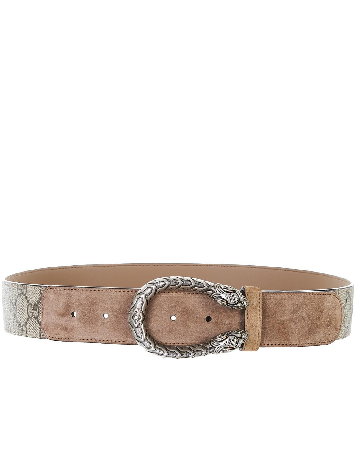 184b0bc91 Lyst - Gucci Brown Dionysus Belt in Brown