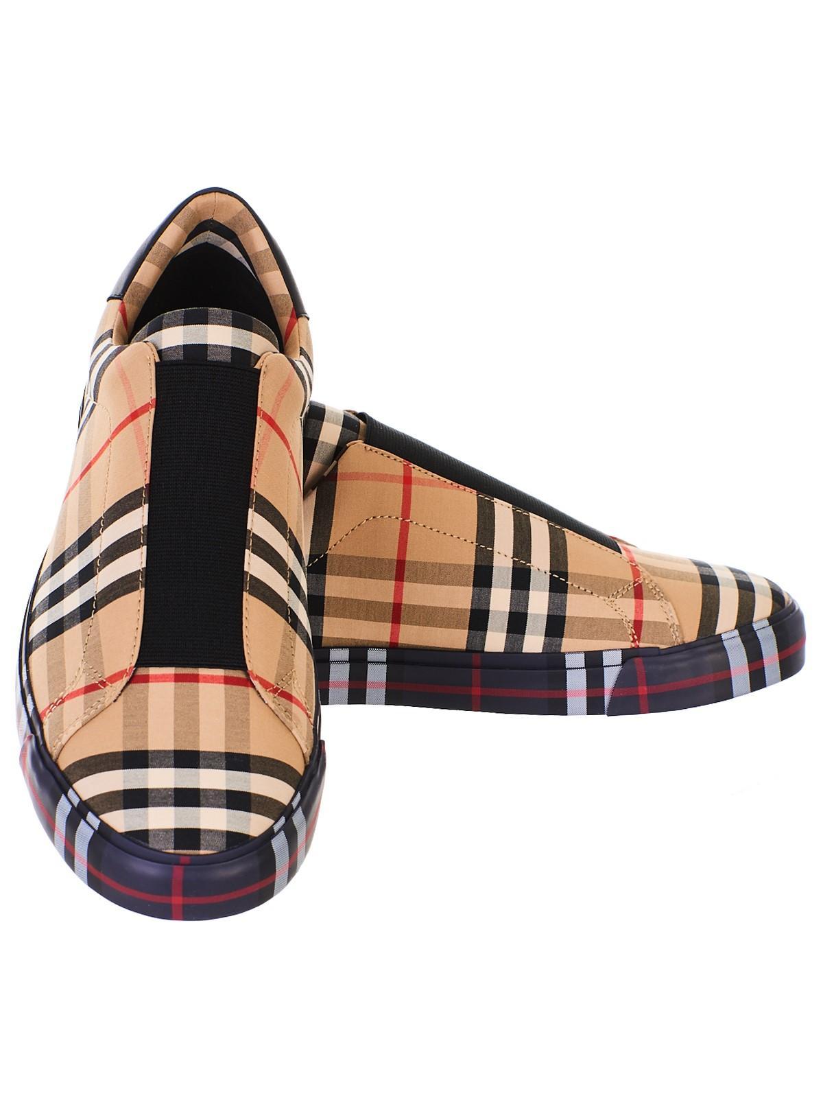 Markham Check Slip-on Sneakers for Men