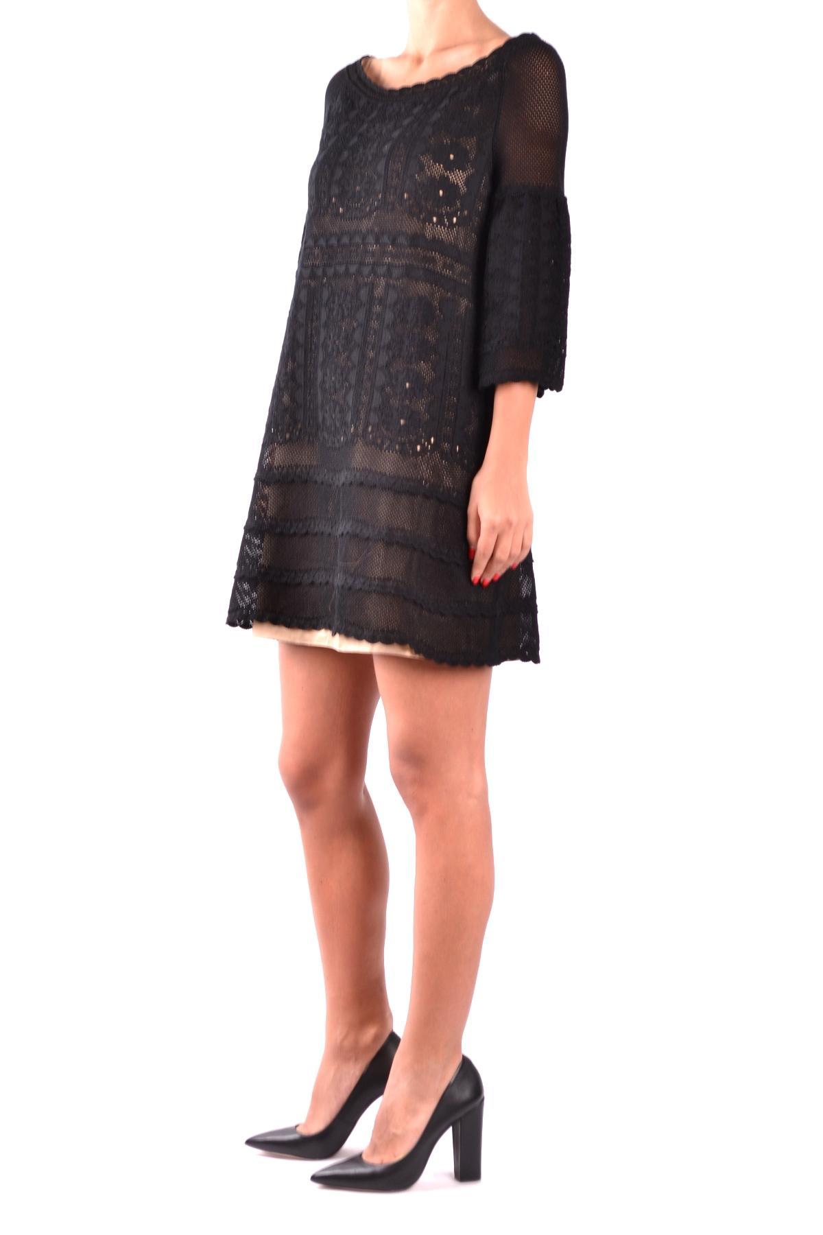 best value 6fa76 47067 Women's Black Cotton Dress