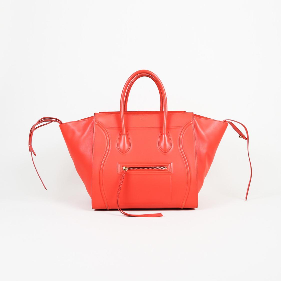 b025140a46 Lyst - Céline Leather Medium