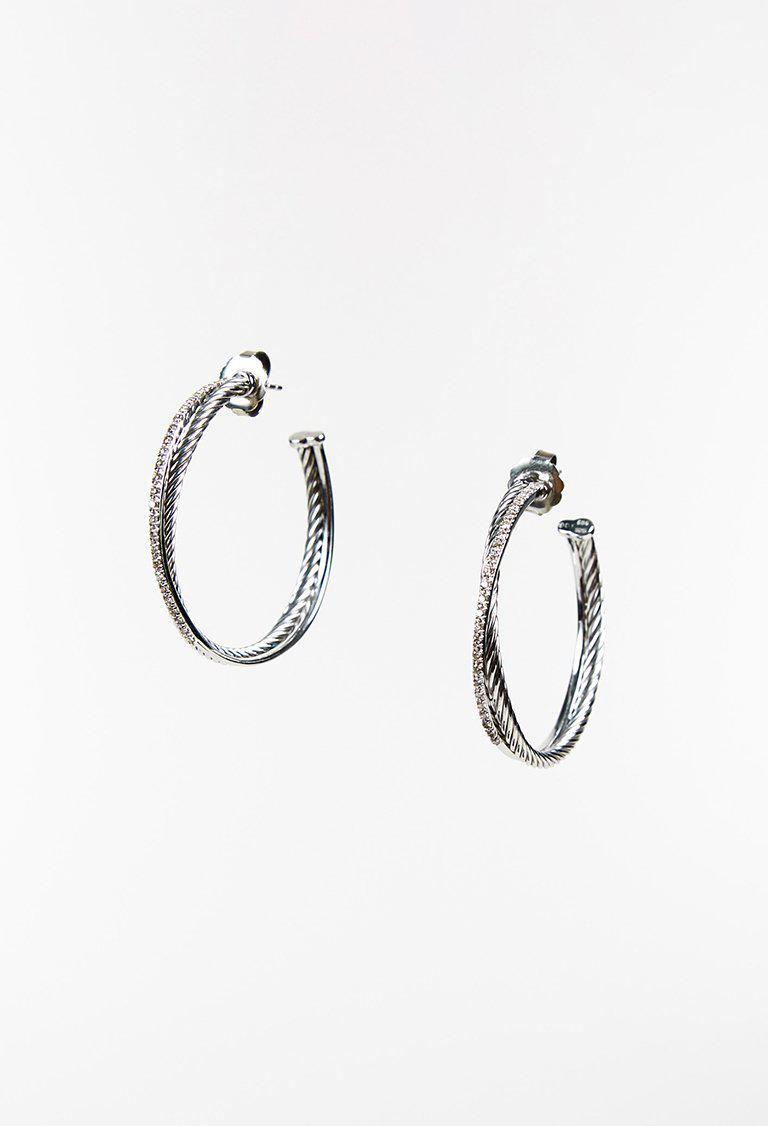 Gallery Previously Sold At Luxury Garage Women S Gold Hoop Earrings