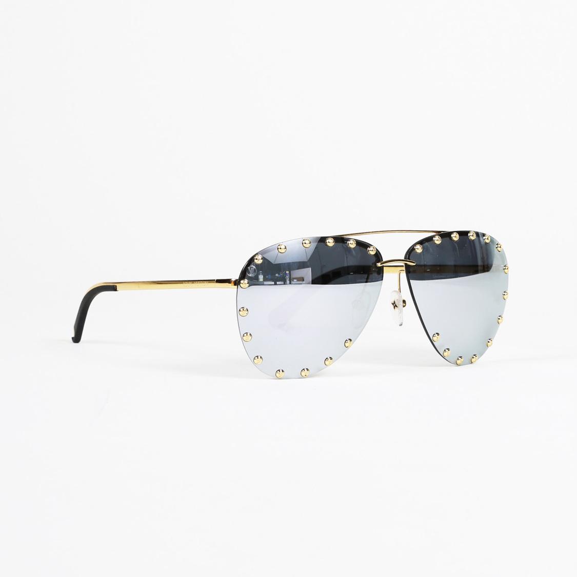 5230e0344e Louis Vuitton The Party Mirrored Sunglasses in Metallic - Lyst