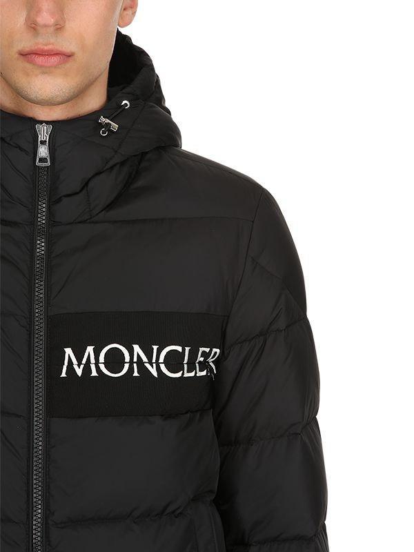 3b6c852d6099 Moncler Aiton Down Jacket (for Men) in Black for Men - Lyst