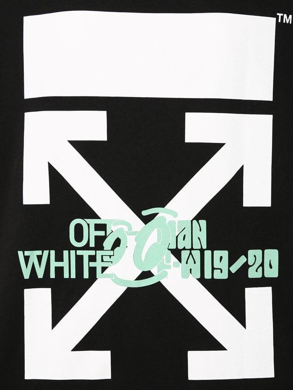 26c403ff Off-White c/o Virgil Abloh Oversize Waterfall Print Cotton T-shirt ...