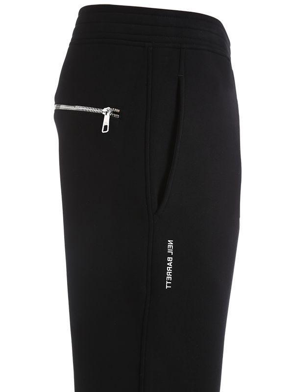 Neil Barrett Printed Neoprene Sweatpants in Black for Men