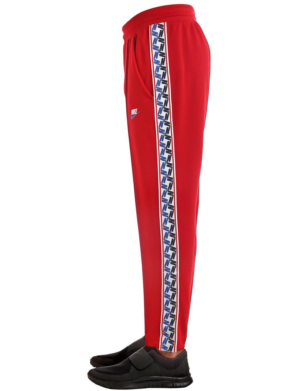 Pantalon Survêtement Red En Coloris Avec Bandes Latérales Pour Homme De Nike XZuTkiOP