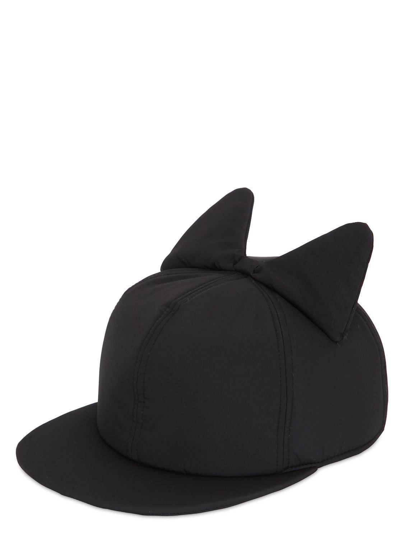 a0b4faff489 Federica Moretti - Black Frida Bow Padded Hat - Lyst. View fullscreen