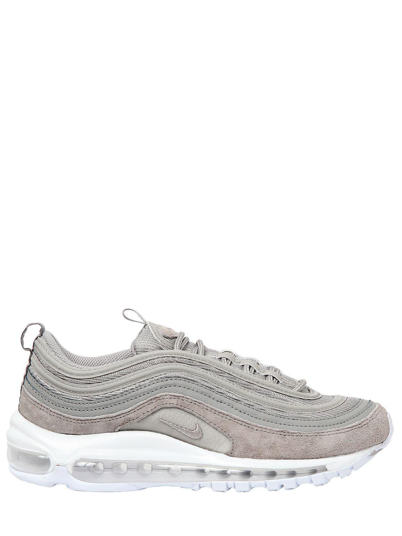Nike Air Max 97 Premium Sneakers in Light Grey (Grey) for Men