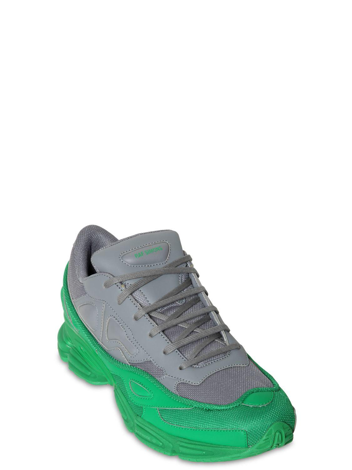 91fa1688d6e09d Lyst - adidas By Raf Simons Rs Ozweego Iii Two Tone Sneakers in Gray ...
