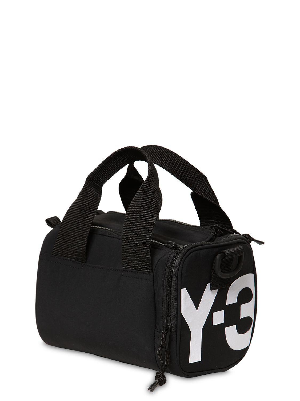 08946f33375e Y-3 Mini Nylon Duffle Bag in Black for Men - Lyst