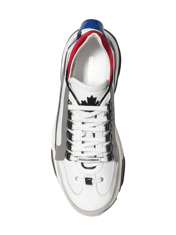 """Sneakers """"551 Bumpee"""" De Piel DSquared² de Cuero de color Blanco para hombre"""