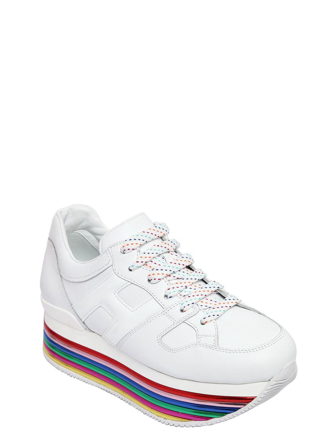 Hogan 70MM MAXI 222 MIGNON LEATHER SNEAKERS Affordable Sale Fashionable Footlocker Finishline For Sale iUY5xW
